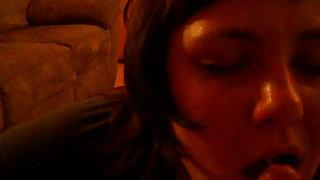Amator vid pov cumming in her hatch she inhales me dry