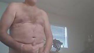 Danrun daddy jizzes to senior sex of him