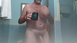 Danrun spurts penetrating hard on masturbation monday