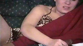 Cuckold wife trying ebony boner for the night