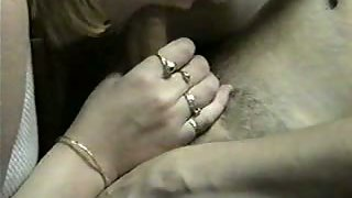 Horny mature wife providing head