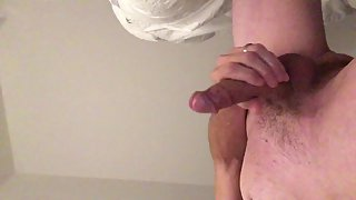 Masturbating that hard manhood for you, comment if you want to help next time