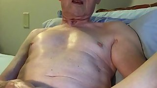 Exposed homosexual perv slut gets nude and hammers off