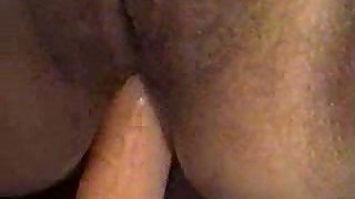 Wife film with blowjob and getting dp'd by husband's cock and vibrator