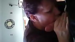 Getting a hand job by my friend in my bedroom