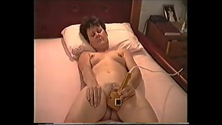 Cuming on my vibrator many years ago