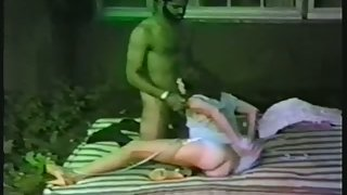 Antique of a wifey being trained by a big black cock interracial amateur porn